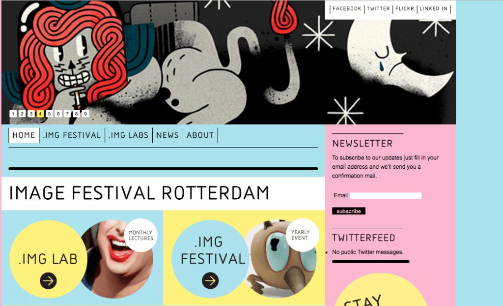 Image Festival Website