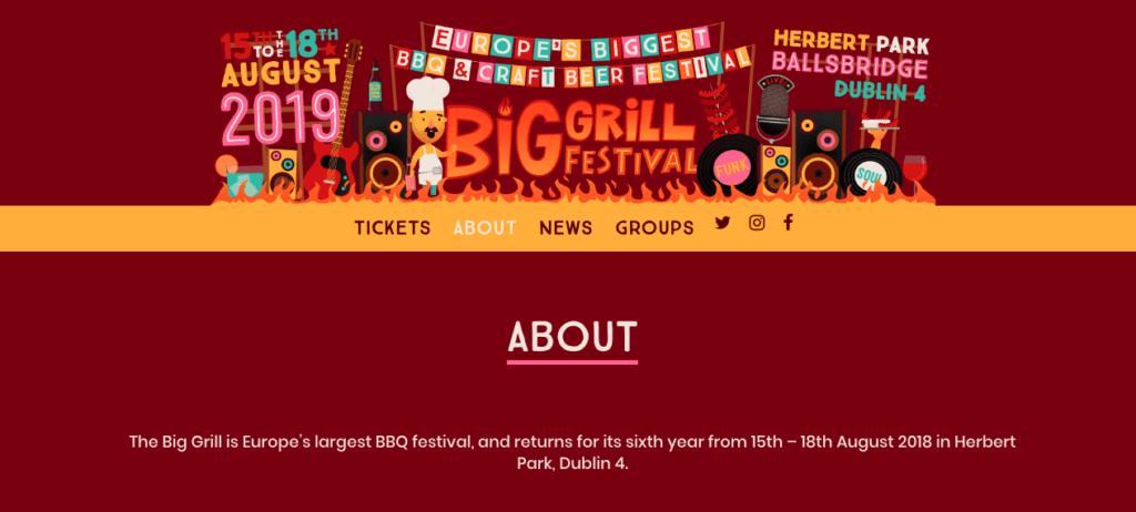 Website Grill Festival