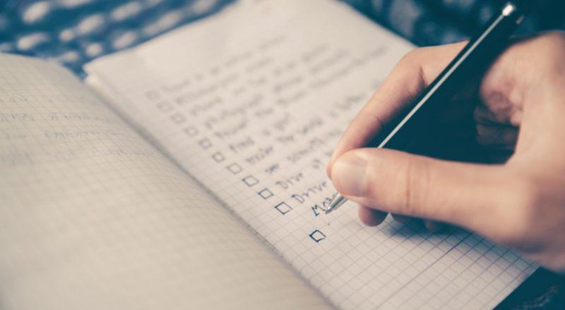 Eventplanung Checkliste