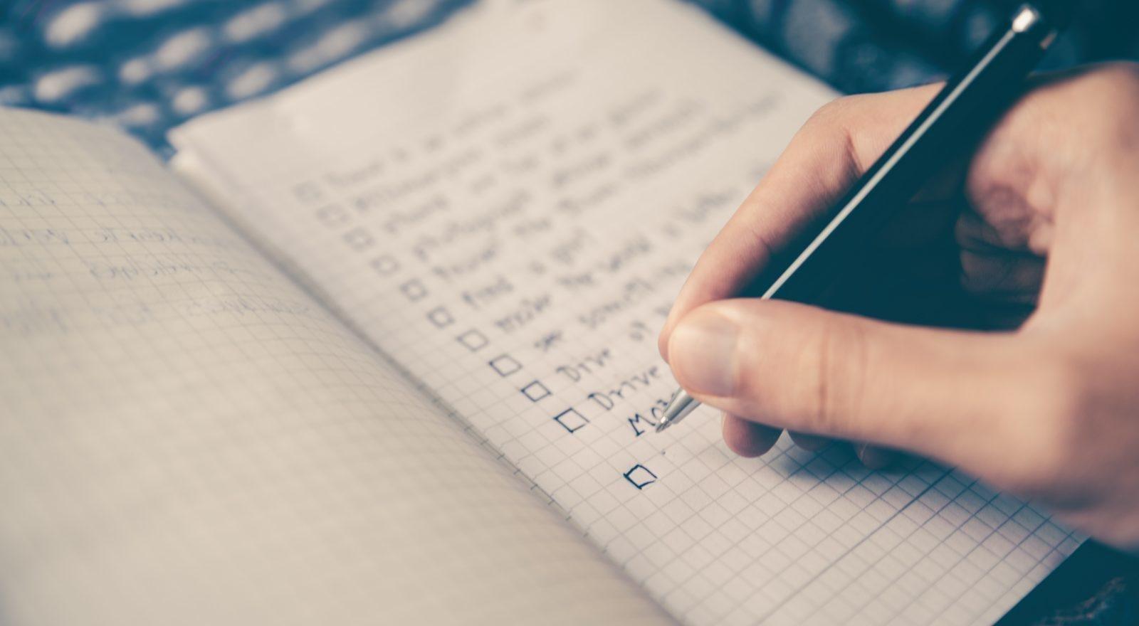 Die Checkliste für Eventplanung für den geschäftigen Eventplaner