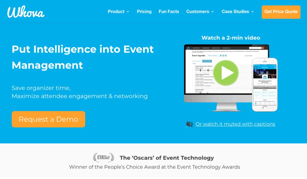 Die besten Event-Apps: Whova.