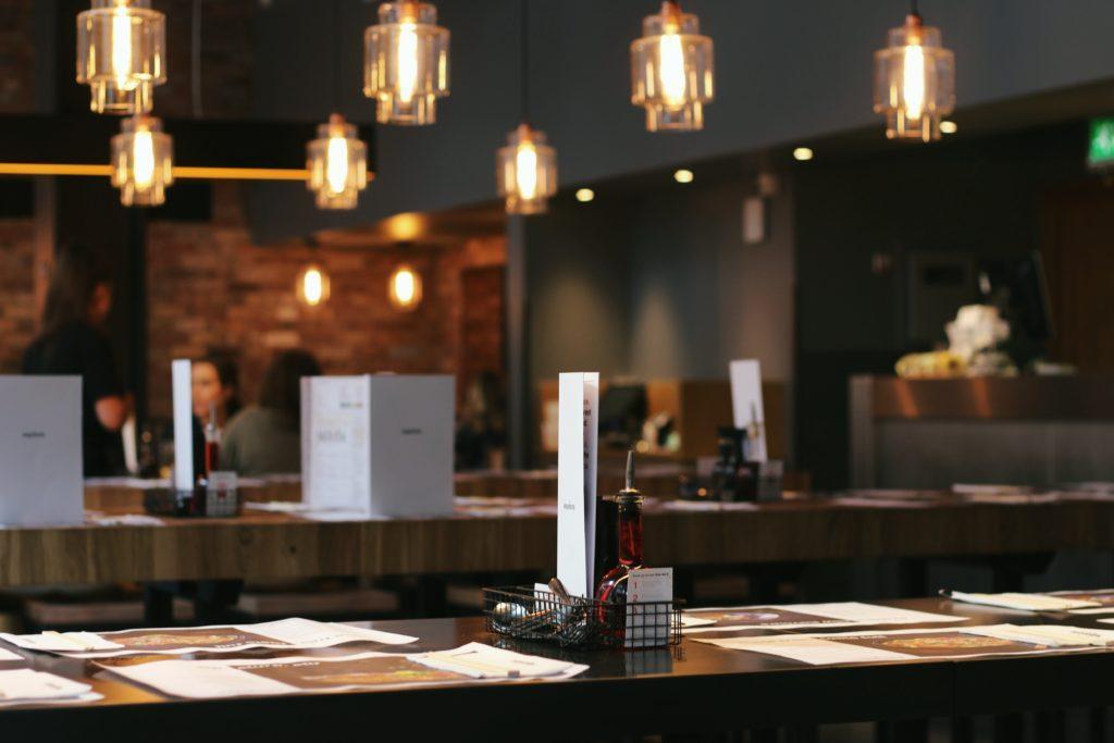 Ideen für die Neueröffnung: Ideen für die Neueröffnung eines Restaurants.