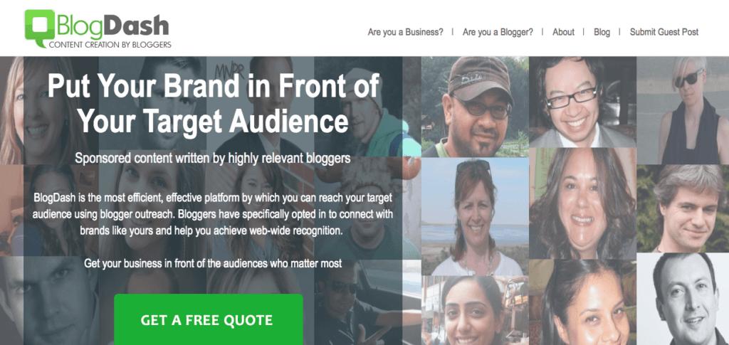Tools für die Sicherung einer Event-Medienpartnerschaft: BlogDash