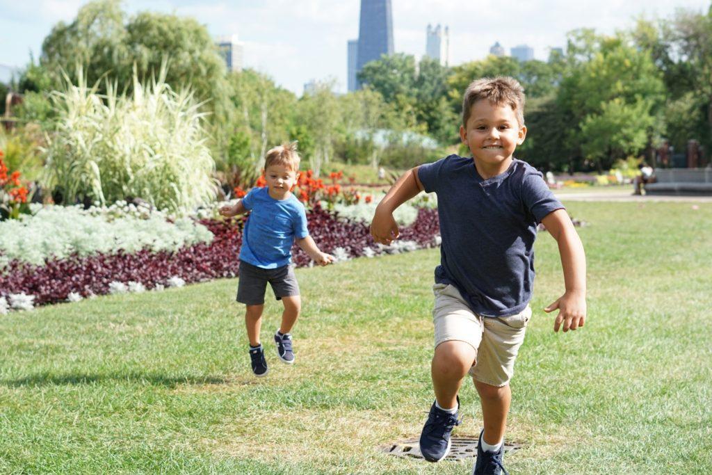 Familienfreundliche Events: Der Eventort kann so einfach wie ein Park sein.