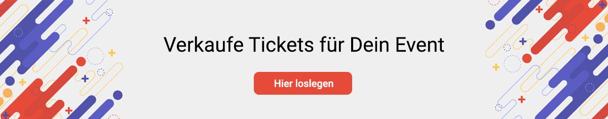 Verkaufe Tickets fur Dein Event