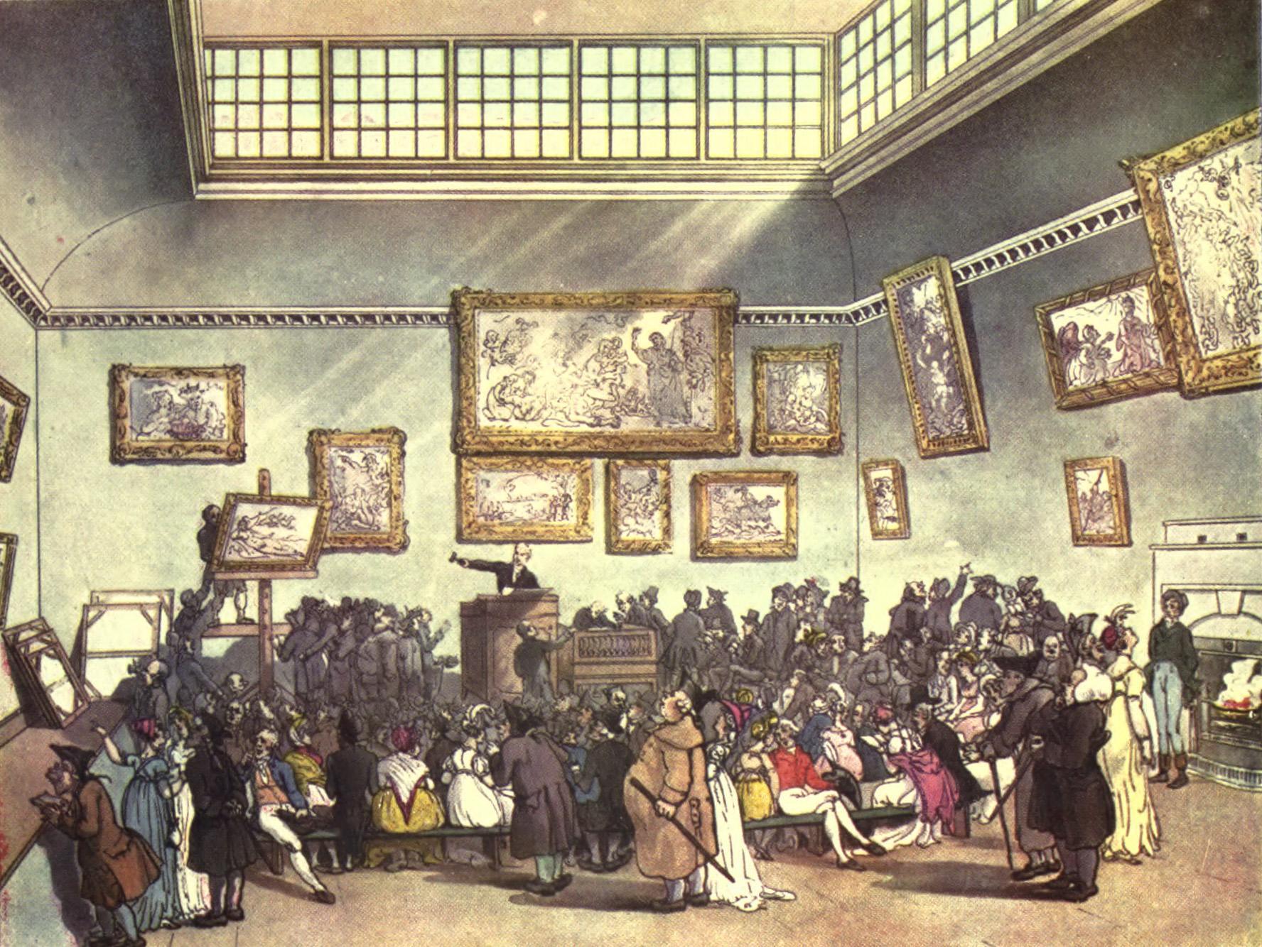 Es muss keine Auktion wie im 18. Jahrhundert durchgeführt werden.